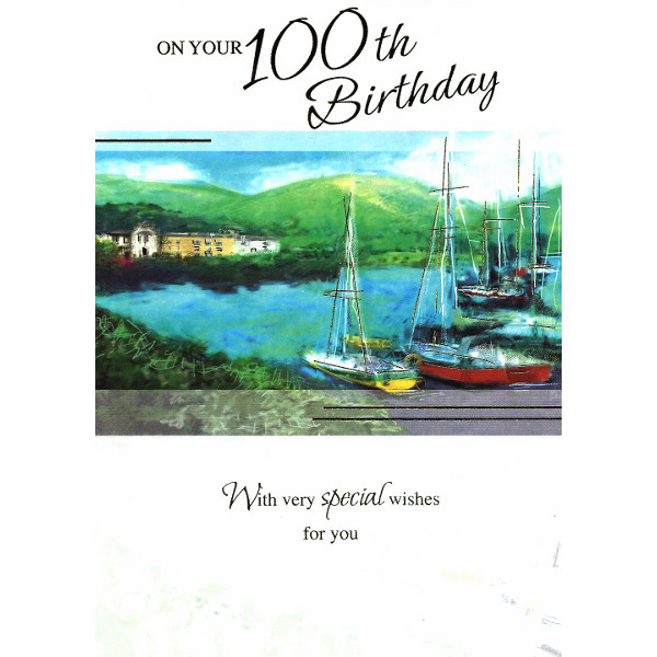 Cards Direct UK Milestone Ages 18 100 100th Birthday