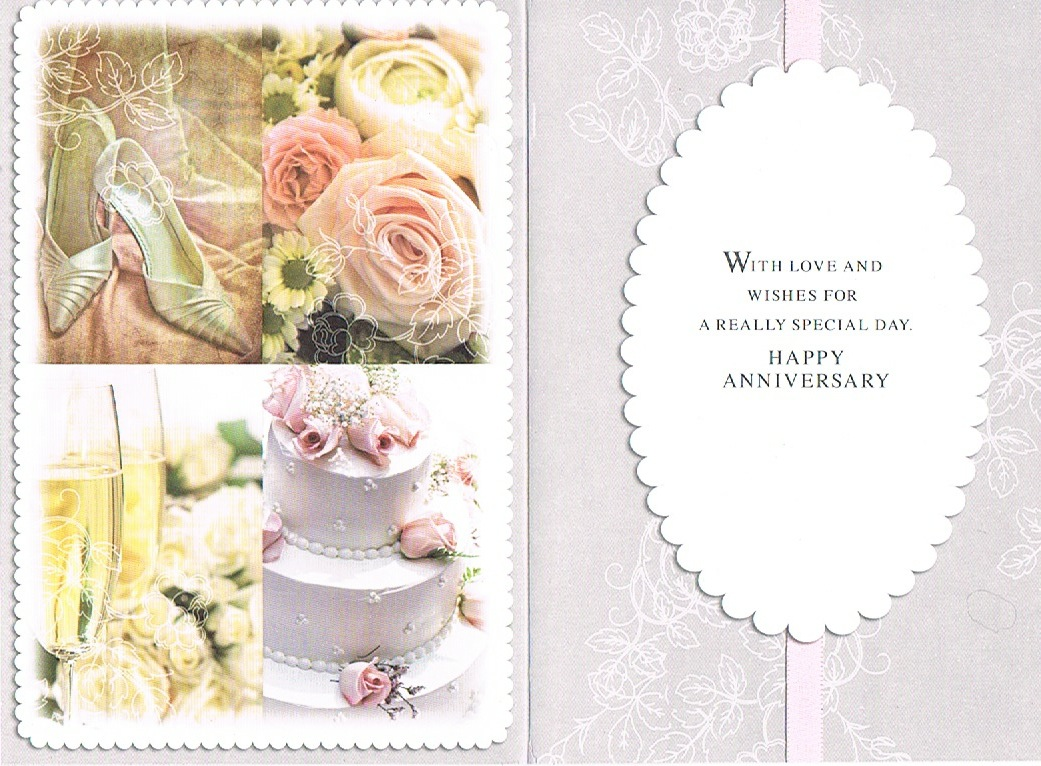 Cards Direct Uk Wedding Anniversary Cards Family Anniversary Brother Sister In Law Brother Sister In Law Anniversary Wedding Cake