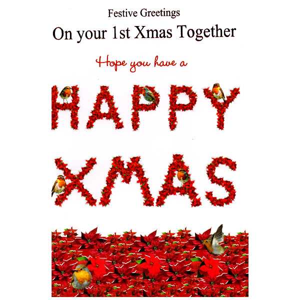 Cards Direct UK :: Christmas Cards :: 1st Christmas Together :: 1st ...