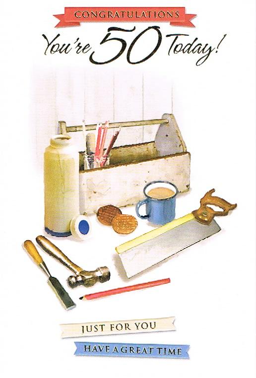 50th Birthday - Male Tools