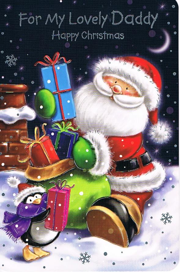 Daddy Xmas Large - Santa Presents