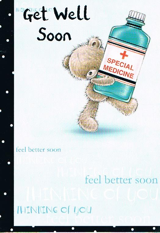 Get Well - Bear/Medicine