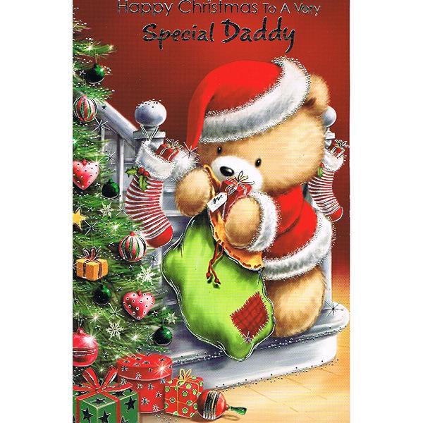 Daddy Xmas - Lge Bear/Sack