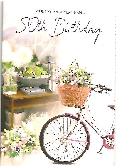 50th Birthday Female Cycle