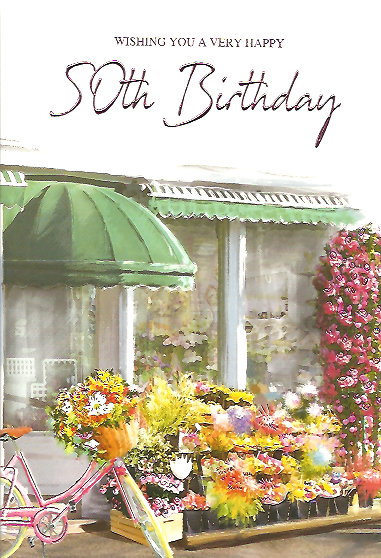 50th Birthday Female  Mix Flowers