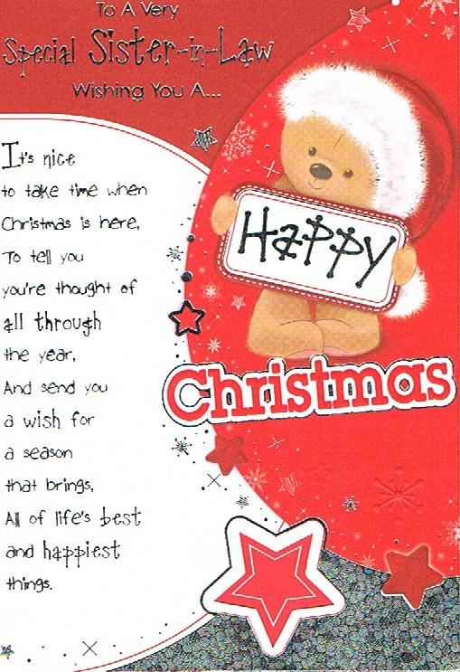 Sister-in-Law Xmas - Happy Christmas