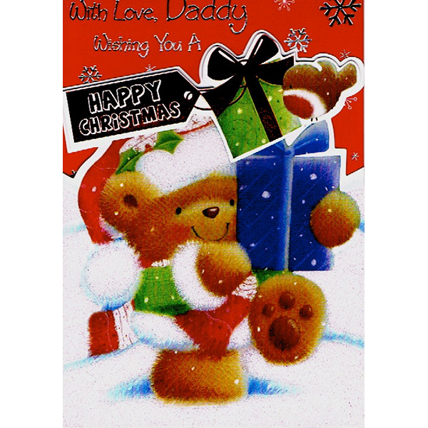 Daddy Xmas - Bear/Gifts