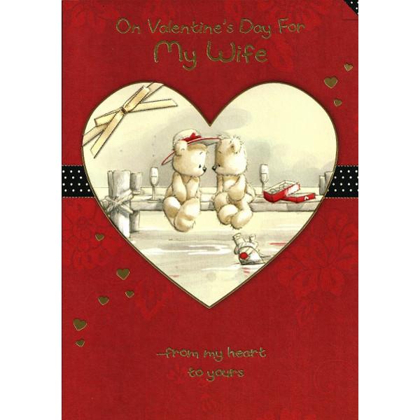 Wife Valentine's Day - Bears/Heart