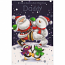 Daddy Xmas - Lge Santa/Snowman