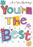 Female Birthday - Your The Best