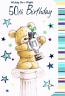 50th Birthday - Male Bear/Cup