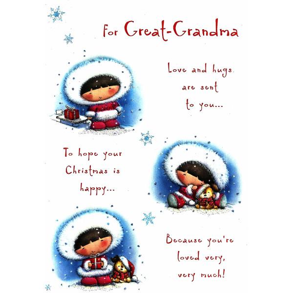 Great Grandma Xmas - 3 Girls