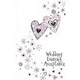 Wedding Evening Acceptance - 2 Hearts