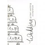 Golden Wedding Acceptance - Wedding Cake