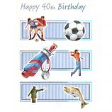 40th Birthday - Golf Bag