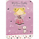 Fathers Day Daddy - Fairy/Cat