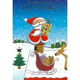 Babys 1st Xmas - Santa/Parcel