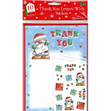 Xmas Thank You Letters - Stickers