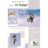 Boy Age 12 - Stunt Bikes