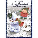 Great-Grandad Xmas - Snowballs