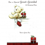 Great-Grandad Xmas - Bear/Stocking