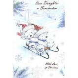Daughter & Son in law Xmas - Lge Bears/Sledge