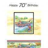 70th Birthday - M Barge