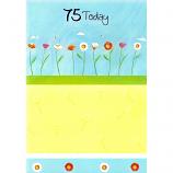 75th Birthday - F Flowers