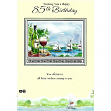 85th Birthday - M Wine/Yachts