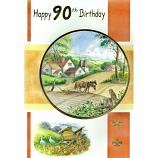 90th Birthday - M Horses