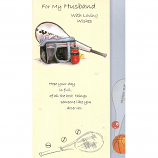 Husband Birthday - Tennis Racquet/Bag