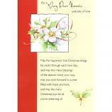 Nannie Xmas - Flowers/Square