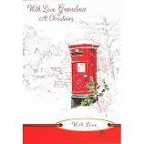 Grandma Xmas - Post Box