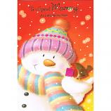 Mummy Xmas - Snowman