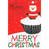 Mummy Xmas - Cupcake
