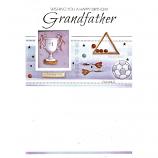Grandfather Birthday - Silver Trophy