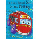 Son Birthday - Fire Engine