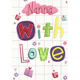 Nanna Birthday - With Love