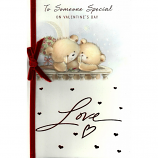 Someone Special Valentine's Day - Lge Velvet Bow