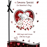 Someone Special Valentine's Day - Lge Black Bow