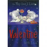 One I Love Valentine's Day - Lge Grey Bears