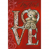 Wife Valentine's Day - Love Bear