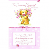 Mother's Day Someone Special - Lge Bear Flowers