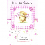 Mother's Day Like A Mum - Lge Pink Bear