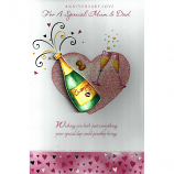 Mum & Dad Anniversary - Lge Diamante