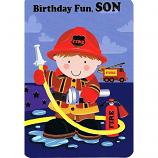 Son Birthday - Fireman
