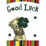 Good Luck - Bear/Clover