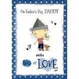 Fathers Day Daddy - Boy/Bird