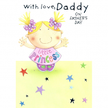 Fathers Day Daddy - Little Princess