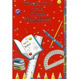 Thank You Teacher - Protractor